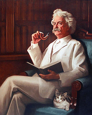 Image result for Mark Twain,