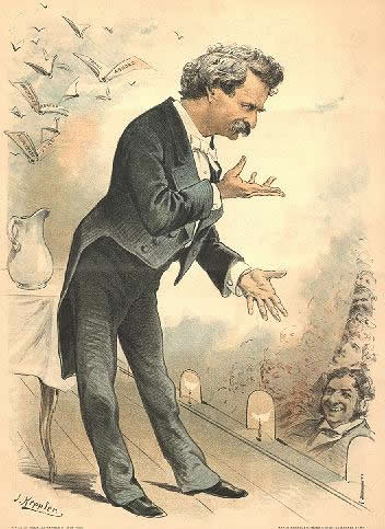 chronology of known mark twain speeches public readings and lectures