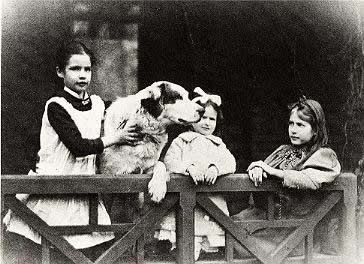 Clemens daughters & dog