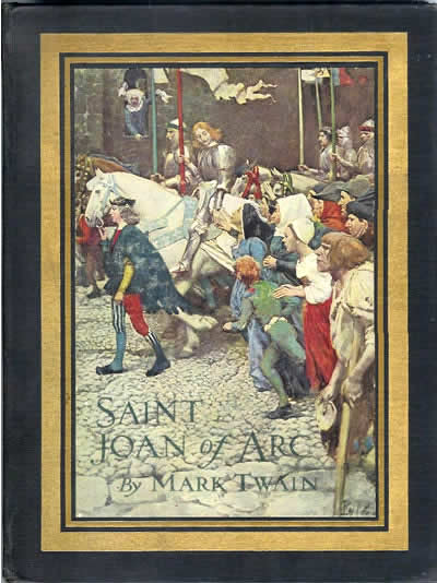joan of arc essay mark twain