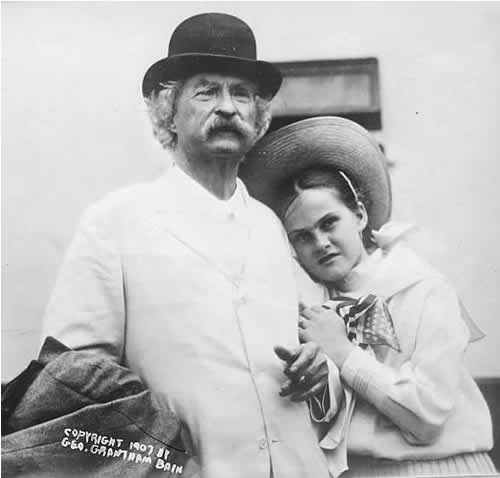 She is just eleven years old, and seems to be made of watch-springs and happiness, Samuel Clemens of his young friend, Dorothy Quick.