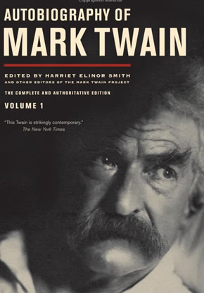 Illustrated Autobiography Of Mark Twain