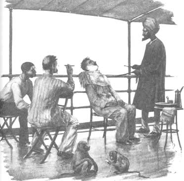 Barber on board