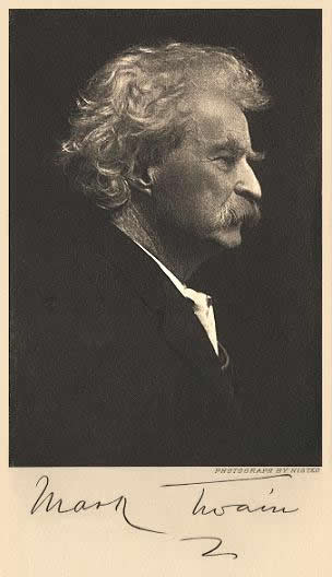 Twain in profile