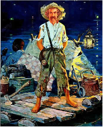 huckleberry finn life on the Essay huckleberry finn, the main character, learns he must grow up fast if he wants to survive life huck finn has a drunkard as a father, a hogshead as.