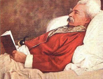 Twain reading