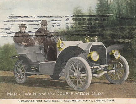 Twain and Oldsmobile