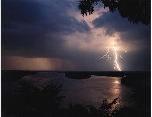 Storm over Mississippi