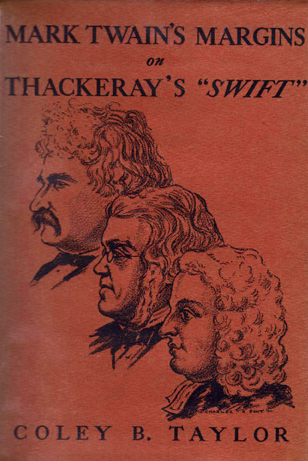 Twain, Thackeray and Swift